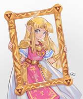 Princess Zelda by AlpacaCarlesi