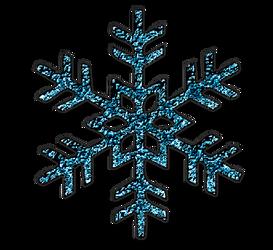 KarenPhoto Glitter Blue Snowflakes2 by KarenPhoto70