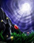 Ray of moon