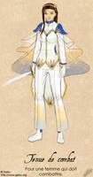 Toki's wardrobe- Fighting suit by Getsuart