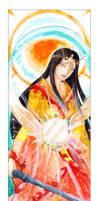 Amaterasu - The Sun by Getsuart
