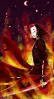 Burning night by Getsuart