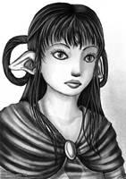 Little girl by Getsuart