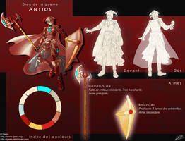 Character Reference - Antios by Getsuart