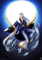 Clair Obscur- Tsukuyomi, the god of the moon by Getsuart
