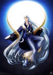 Clair Obscur- Tsukuyomi, the god of the moon