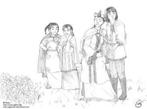 Varaika's family