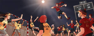 BDP no Handball: Final Assault by Getsuart