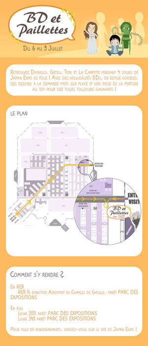 Japan Expo 2017 - BD et Paillettes en S691