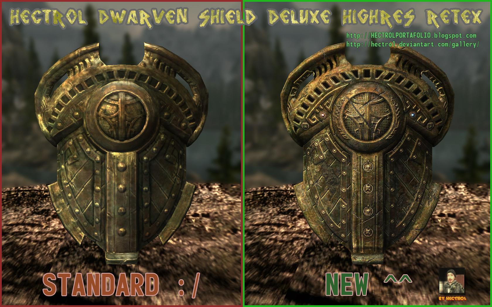Hectrol DWARVEN SHIELD Deluxe HR Retex 03 by hectrol