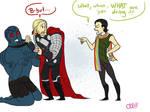 Thor is a stupid bitch