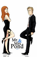 Mr. and Mrs. Pond by thatoddowl
