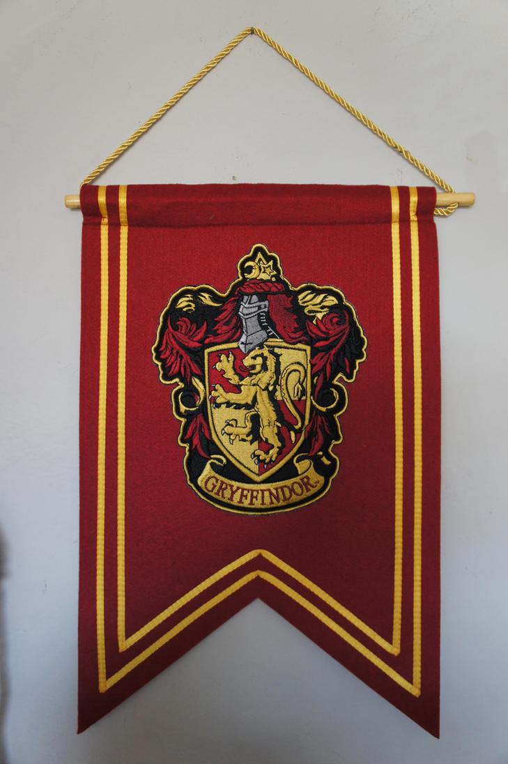 Gryffindor Banner Flag by Prue126
