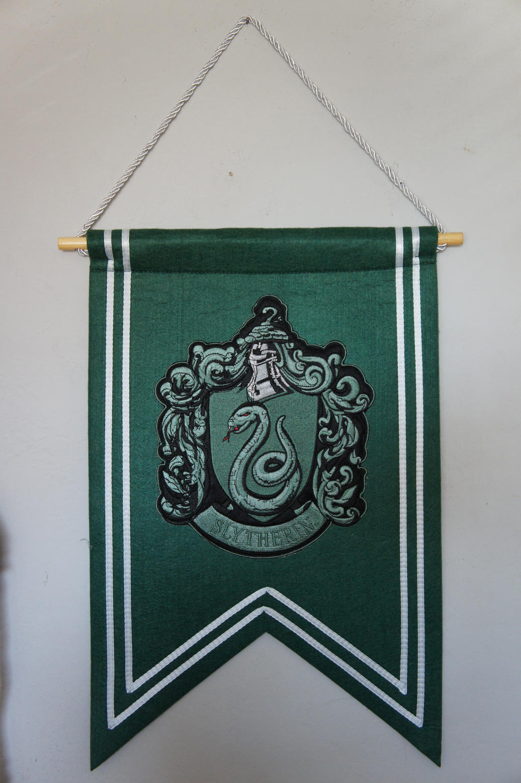 Slytherin Banner Flag by Prue126