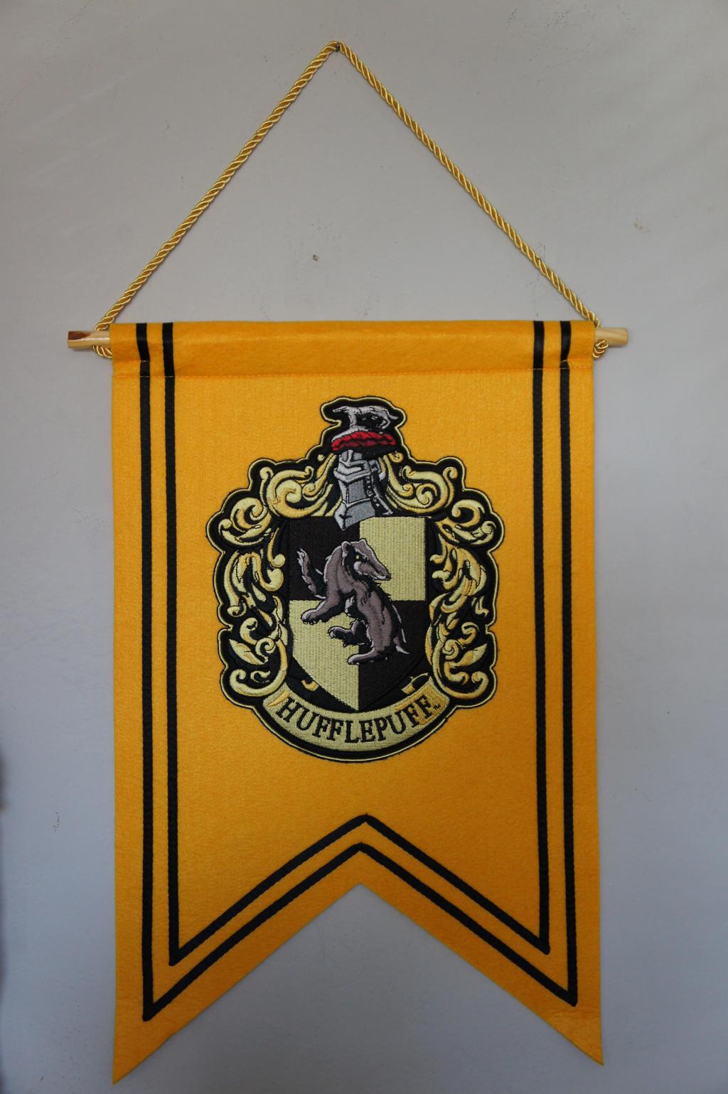 Hufflepuff Banner Flag by Prue126