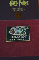 422nd Quidditch World Cup Pin