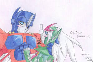 Optimus has a girlfriend ? by Seto01