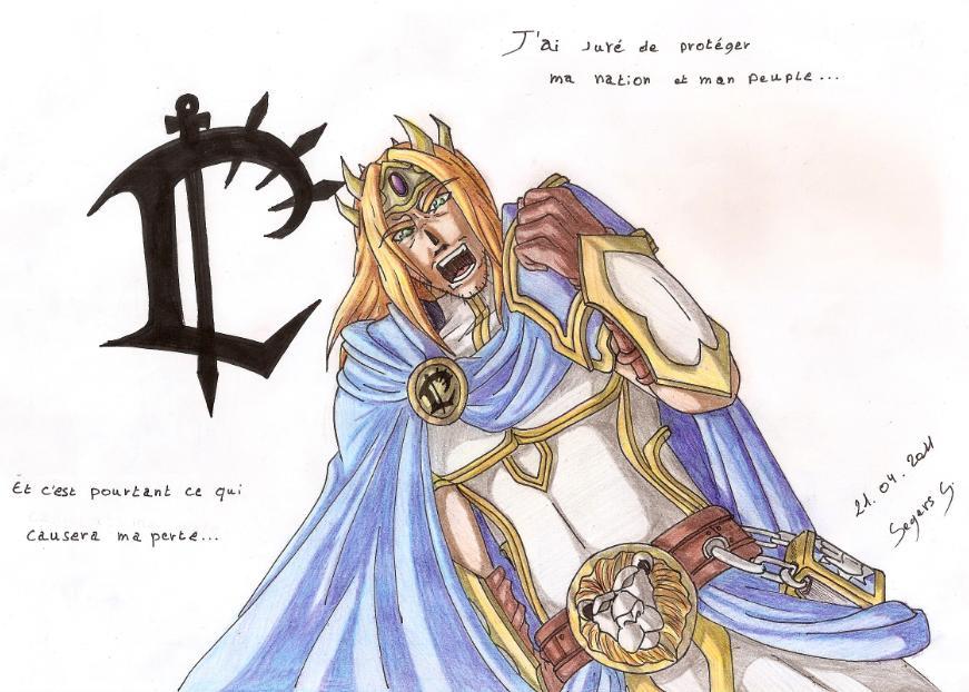 Arthas, Prince of Lordaeron by Seto01 on DeviantArt