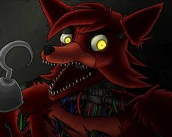 foxy animatronic by Seto01