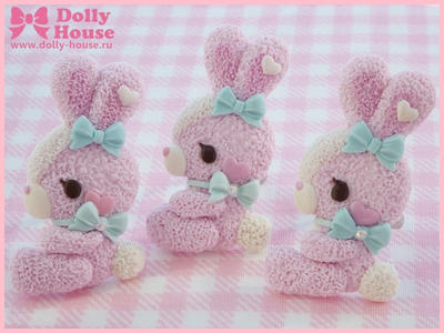 Candy Bunny Ring by Dolly House by SweetDollyHouse