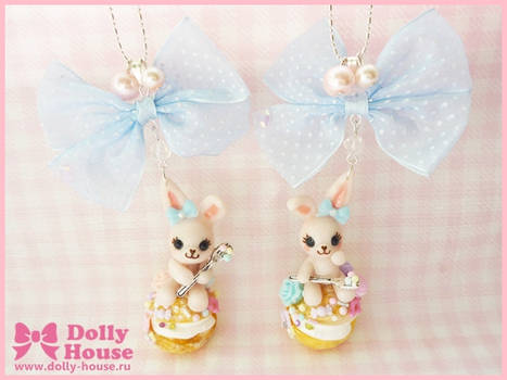 Sugar Bunny Necklace by Dolly House