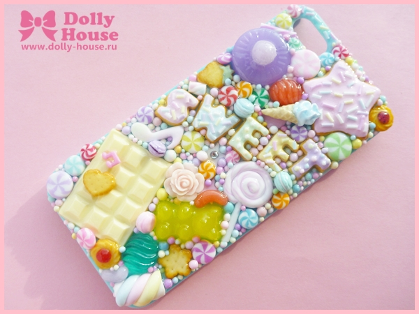 iPhone 5 case -Pastel Sweets- by Dolly House by SweetDollyHouse