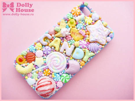 iPhone 4 case -Lovelly Sweets- by Dolly House