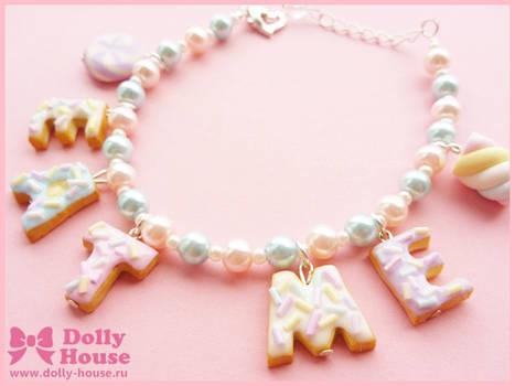 Cute Bracelet -Eat Me Cookies- by Dolly House