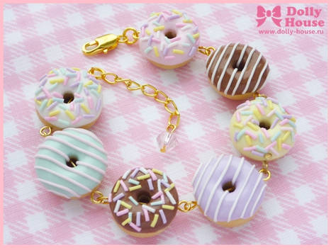 Cute Bracelet -Sweet Donuts- by Dolly House