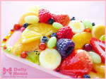 iPhone 5 case -Fruits Symphony- by Dolly House