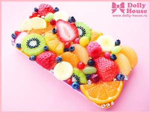 iPhone 4 Case Fruits Symphony 8 by Dolly House