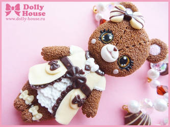 Angelic Lolita Bear Necklace by Dolly House