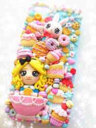 Kawaii iPhone 5\5S case -Alice in Candyland- by Do