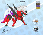 pokemon fusion - Lycanrai