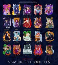 Vampire Chronicles by claudiakat