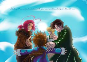 Saiyuki: Brighter than the Sun by claudiakat