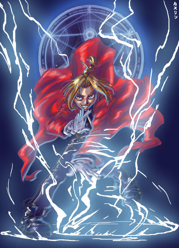 �а��инки по зап�о�� edward elric epic art
