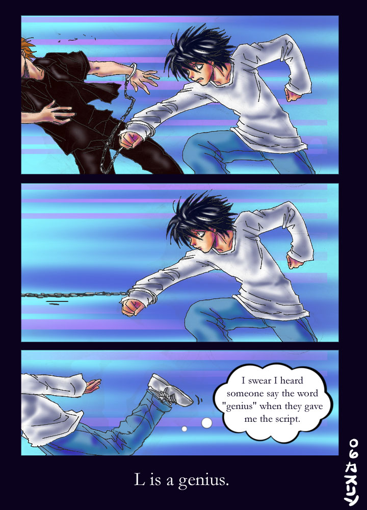 Death Note: L is a genius