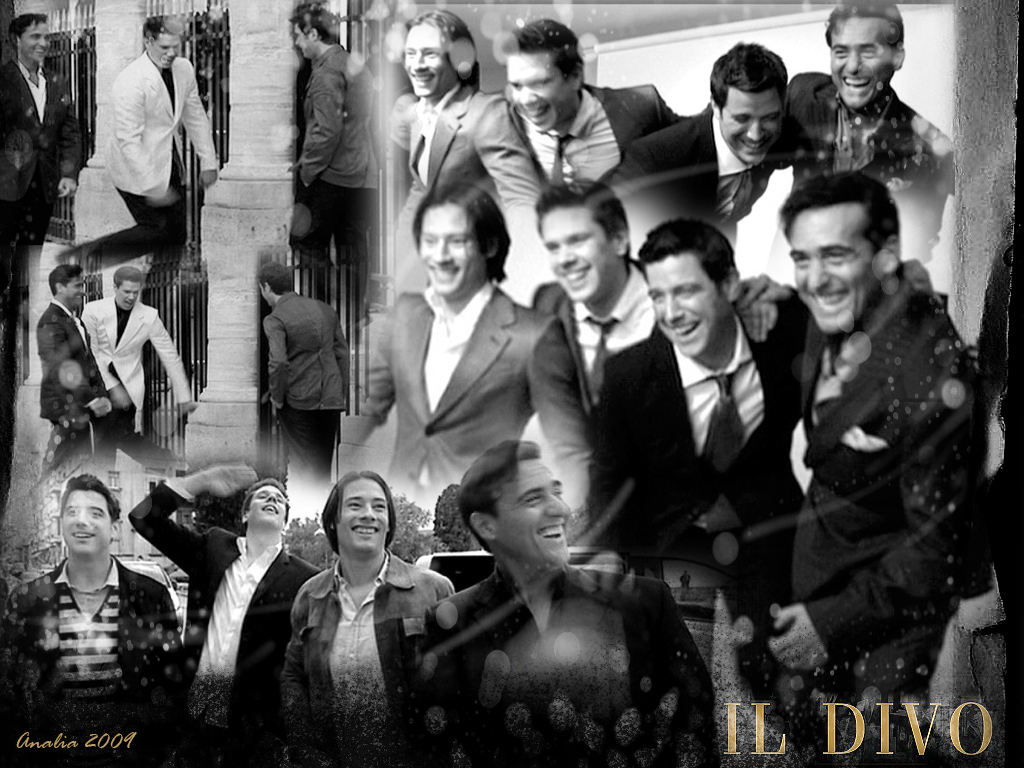 Il Divo In Black And White By Happinessismusic On Deviantart