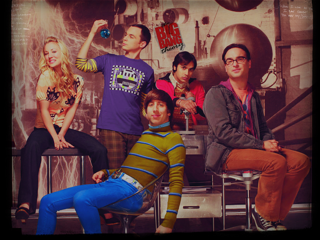 The Big Bang Theory Wallpaper By Happinessismusic On Deviantart