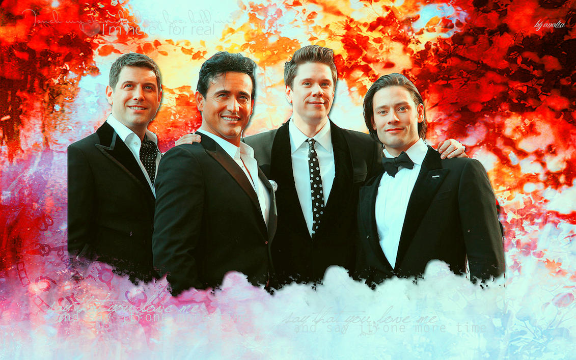 Il divo wallpaper 5 by happinessismusic on deviantart - Il divo christmas ...