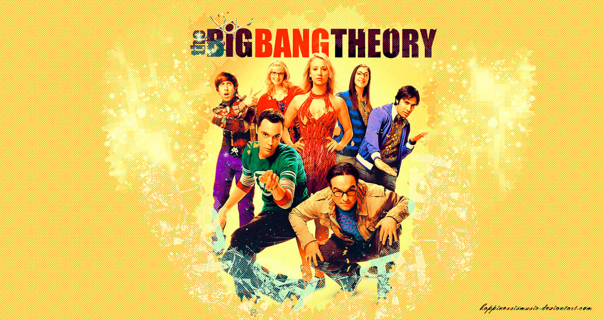 the big bang theory wallpaper 4 by happinessismusic on