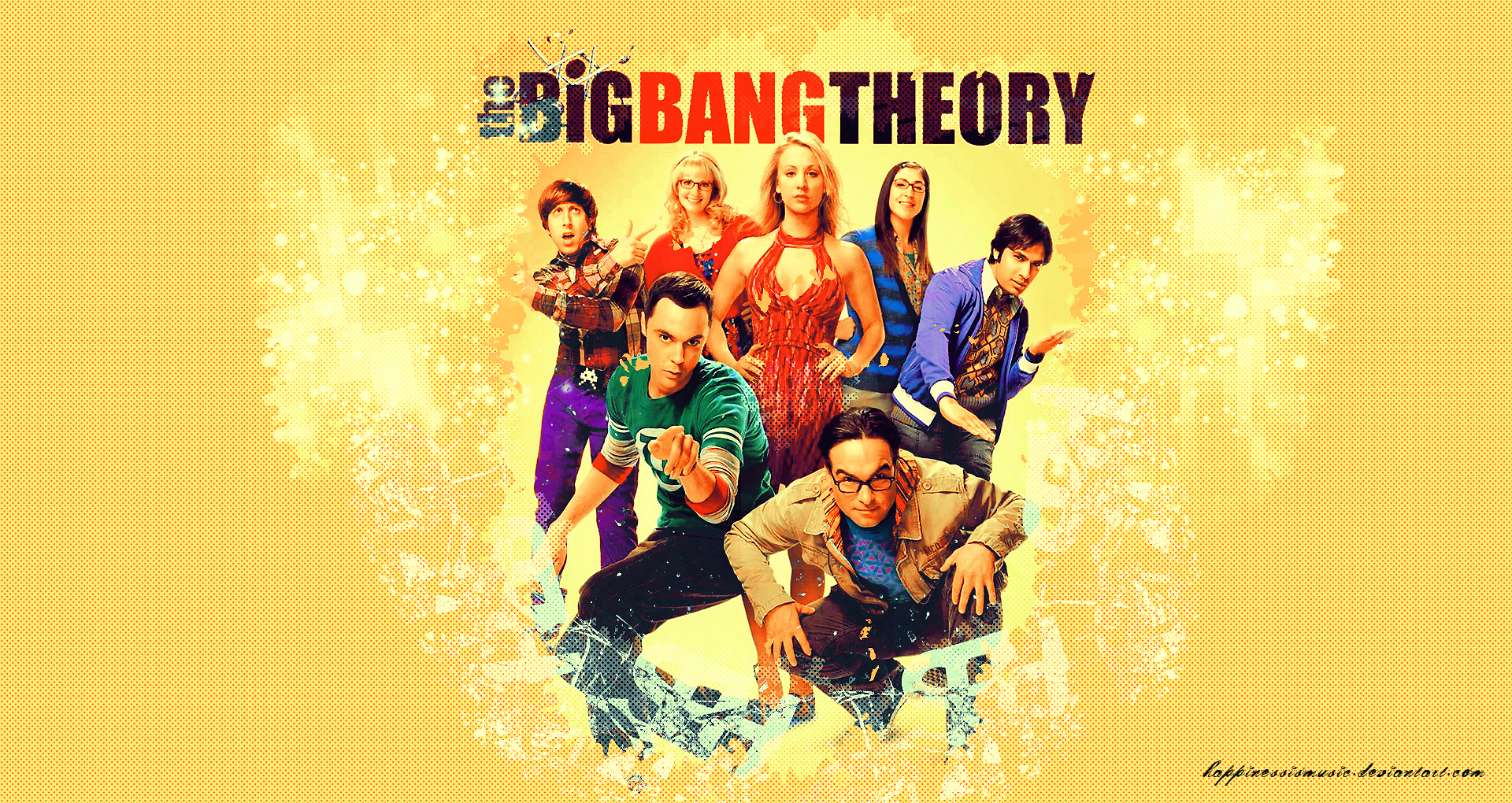 The big bang theory wallpaper 4 by HappinessIsMusic on DeviantArt