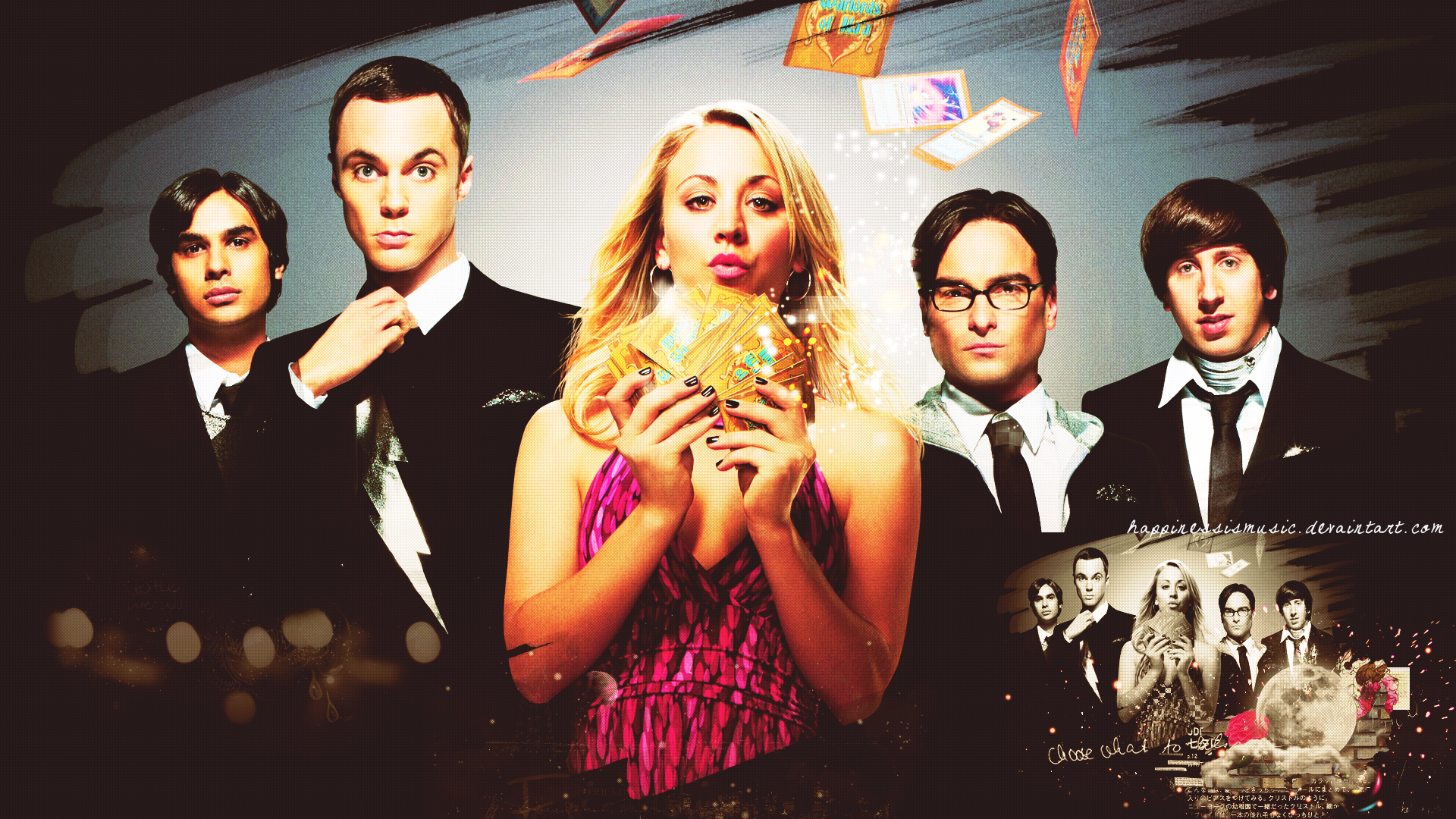 the big bang theory wallpaper 6 by happinessismusic on