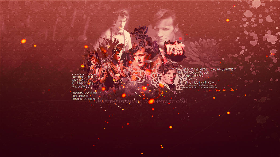 Matt Smith As The Doctor Wallpaper By Happinessismusic On Deviantart