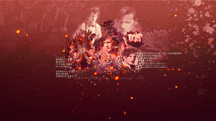 Matt Smith as the doctor wallpaper by HappinessIsMusic
