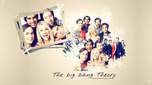 The cast of the big bang theory wallpaper