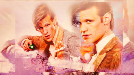 The eleventh doctor wallpaper 3 by HappinessIsMusic