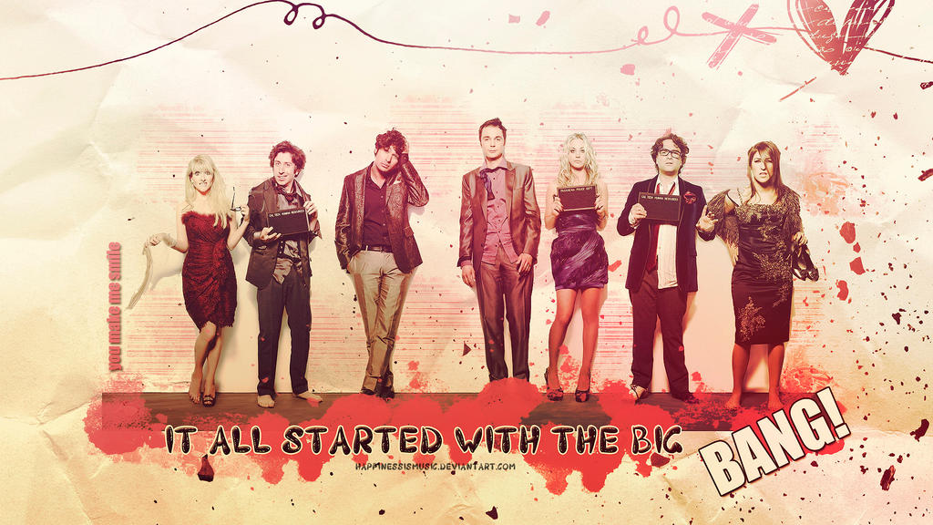 The big bang theory wallpaper 7 by HappinessIsMusic on DeviantArt
