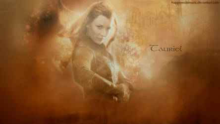 Tauriel wallpaper by HappinessIsMusic